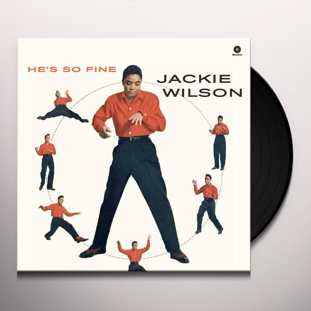 Jackie Wilson HE'S SO FINE Vinyl Record - Spain Import