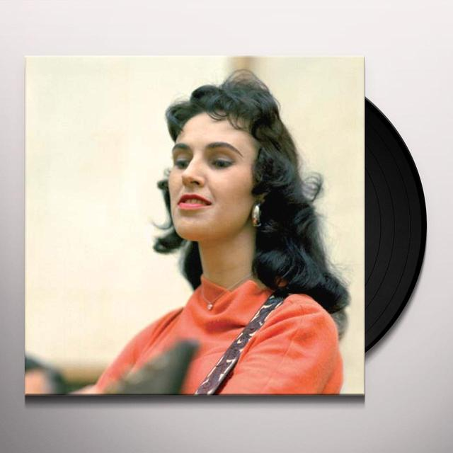 Wanda Jackson THERE'S PARTY GOIN' ON Vinyl Record