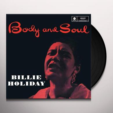 Billie Holiday BODY & SOUL Vinyl Record