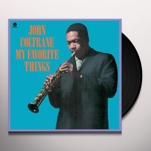 John Coltrane MY FAVORITE THINGS Vinyl Record - Spain Import