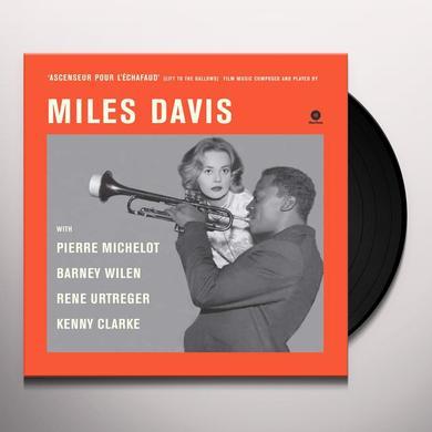 Miles Davis ASCENSEUR POUR L'ECHAFAUD Vinyl Record - Spain Import