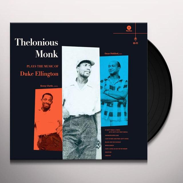 Thelonious Monk PLAYS THE MUSIC OF DUKE ELLINGTON Vinyl Record