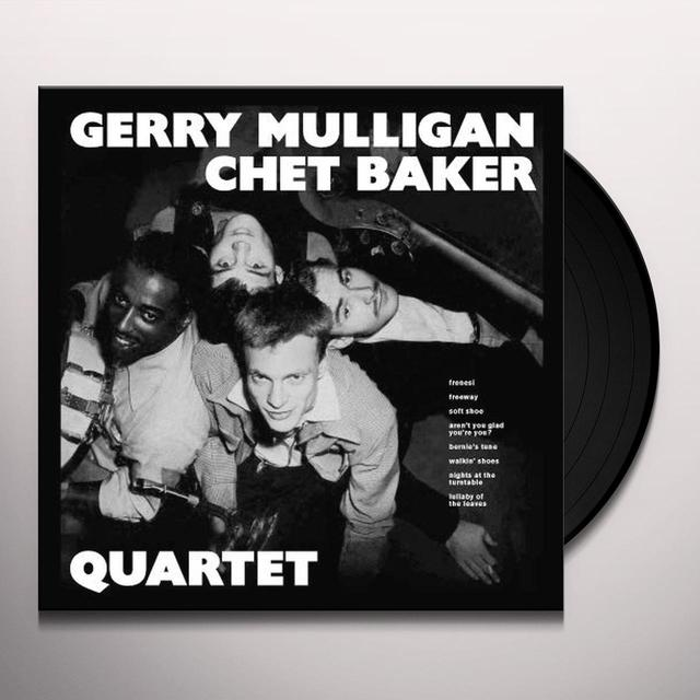 Chet Baker & Gerry Mulligan QUARTET Vinyl Record - Spain Import