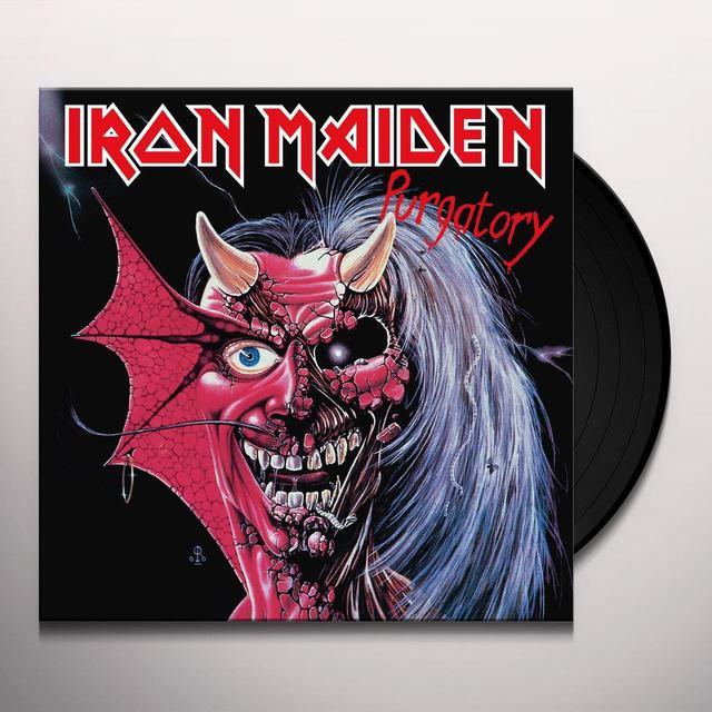 Iron Maiden PURGATORY Vinyl Record - UK Import