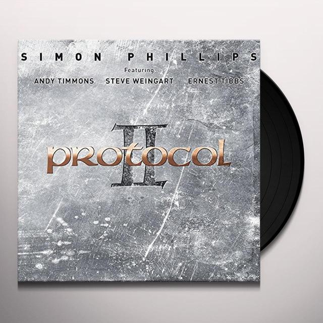 Simon Phillips PROTOCOL II Vinyl Record - UK Import