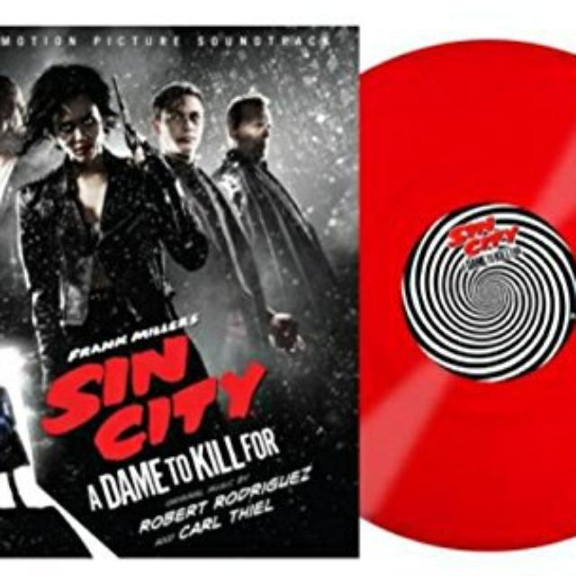 SIN CITY A DAME TO KILL FOR / O.S.T. (UK) SIN CITY A DAME TO KILL FOR / O.S.T. Vinyl Record