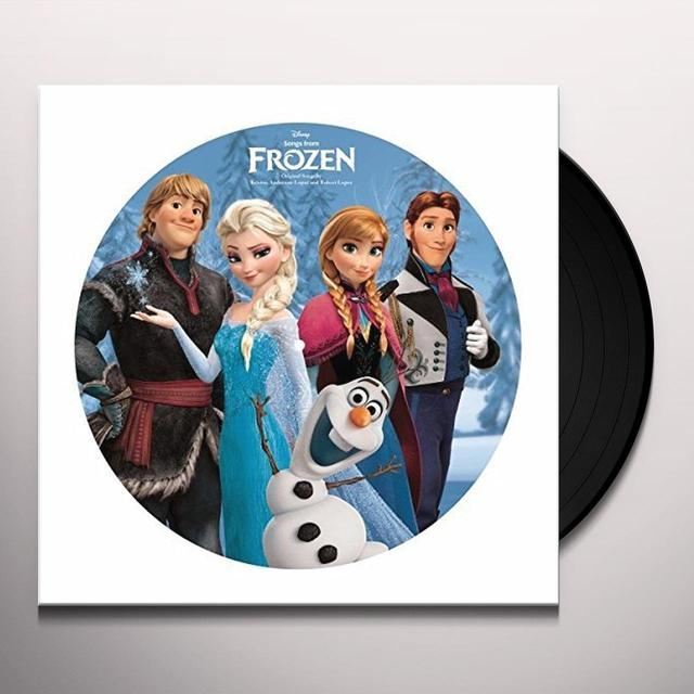 SONGS FROM FROZEN / VARIOUS (UK) SONGS FROM FROZEN / VARIOUS Vinyl Record - UK Import