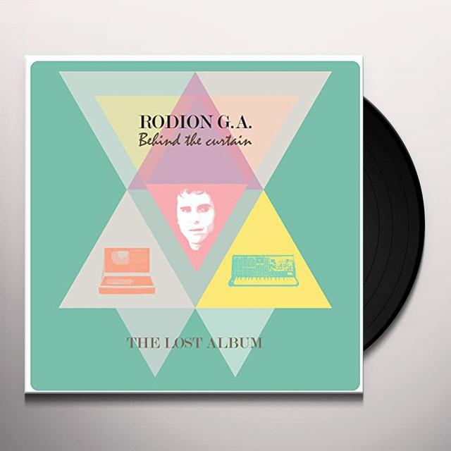 RODION G.A BEHIND THE CURTAIN Vinyl Record - UK Import