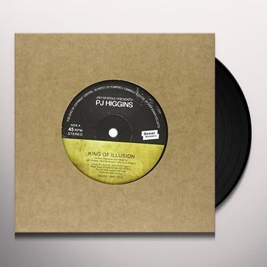 Jah Wobble & PJ Higgins KINGS OF ILLUSION / WATCH HOW YOU WALK Vinyl Record - UK Import