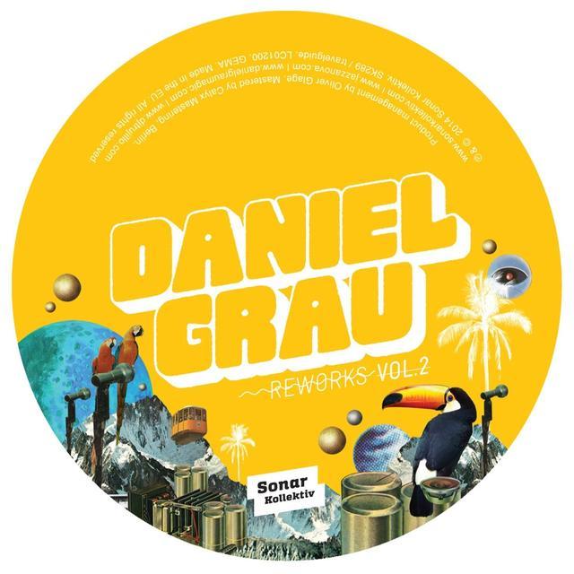Daniel Grau REWORKS 2 Vinyl Record - UK Release