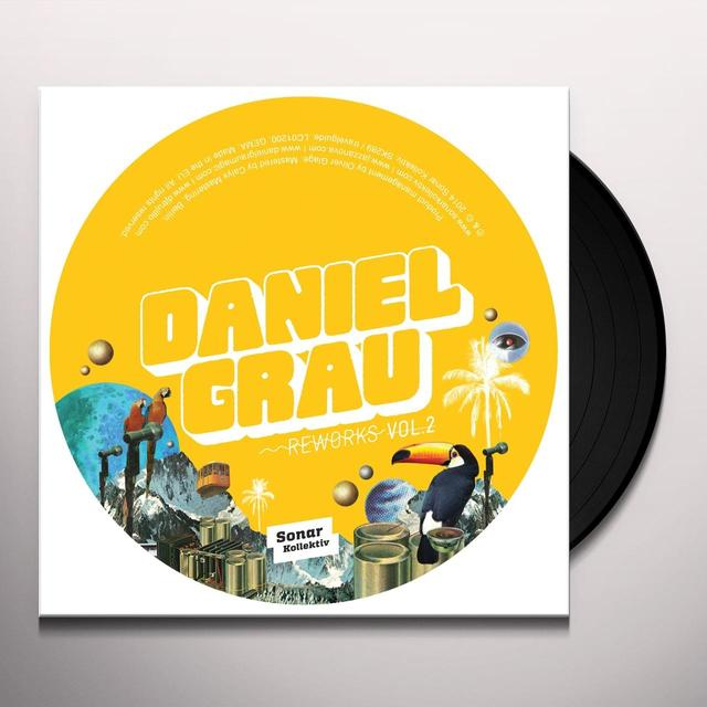 Daniel Grau REWORKS 2 Vinyl Record - UK Import
