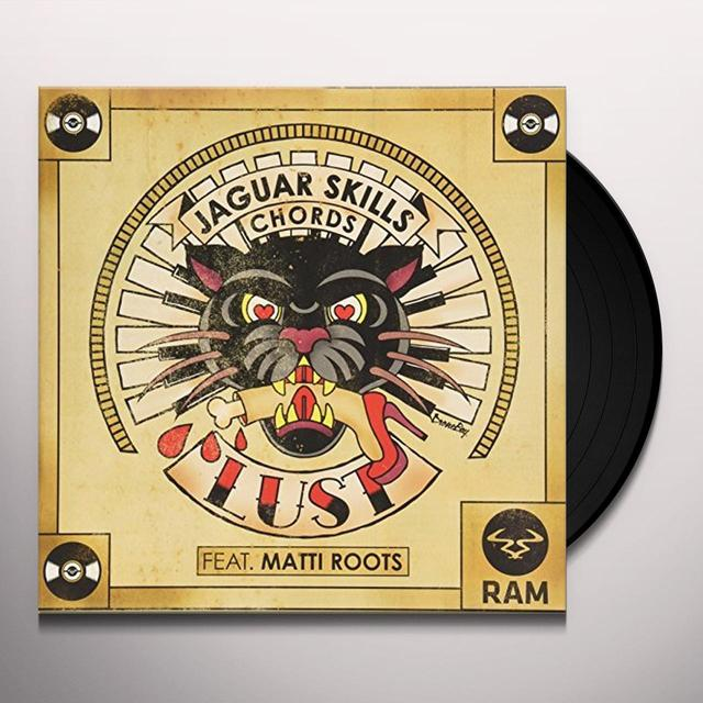 JAGUAR SKILLS & CHORDS LUST Vinyl Record - UK Import