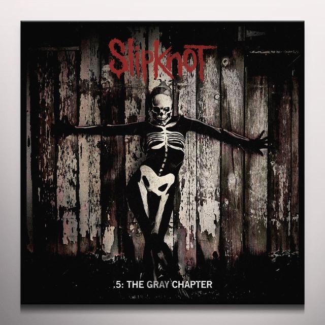 Slipknot 5: THE GRAY CHAPTER Vinyl Record