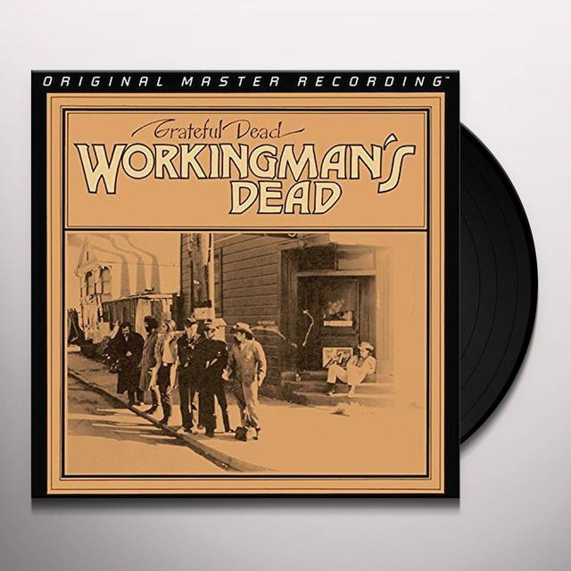 Grateful Dead WORKINGMAN'S DEAD Vinyl Record - Limited Edition, 180 Gram Pressing