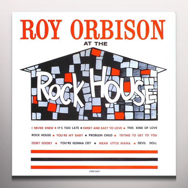 Roy Orbison AT THE ROCK HOUSE Vinyl Record - Colored Vinyl, Limited Edition, Remastered