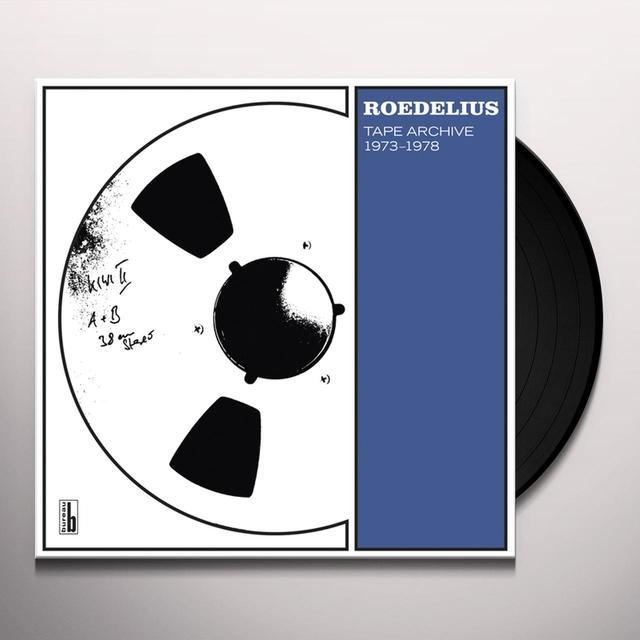 Hans-Joachim Roedelius TAPE ARCHIVE 1973-1978 Vinyl Record - w/CD