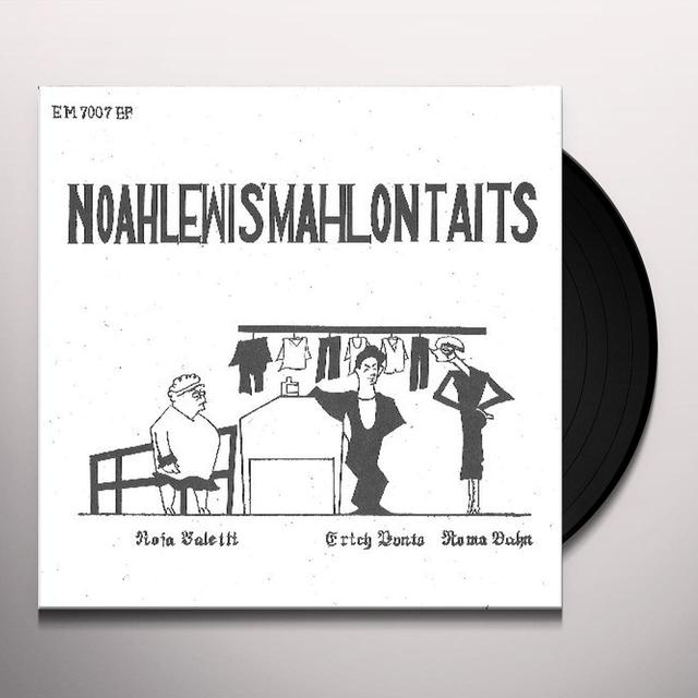Noahlewis Mahlon Taits TENDERLY / DREAMBOAT Vinyl Record