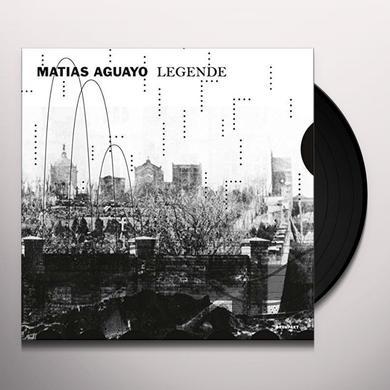 Matias Aguayo LEGENDE Vinyl Record