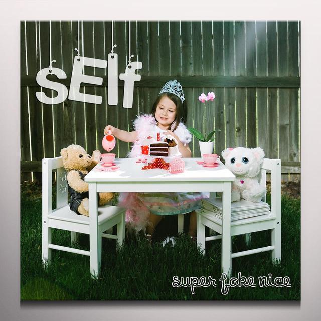 Self SUPER FAKE NICE Vinyl Record - 10 Inch Single, Clear Vinyl
