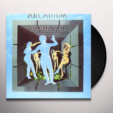 ARCADIUM BREATHE AWHILE Vinyl Record - Italy Import