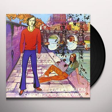 Claudio Baglioni QUESTO PICCOLO GRANDE AMORE Vinyl Record