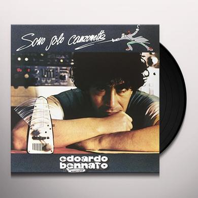 Edoardo Bennato SONO SOLO CANZONETTE Vinyl Record - Italy Import