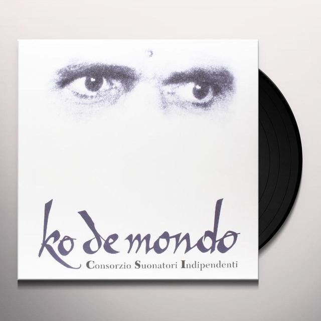 C.S.I. KO DE MONDO Vinyl Record - Italy Import