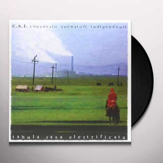 C.S.I. TABULA RASA ELETTRIFICATA Vinyl Record - Italy Release
