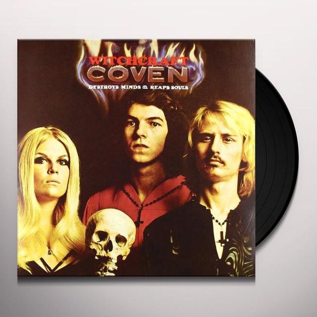 Coven WITCHCRAFT DESTROYS MINDS Vinyl Record - Italy Release