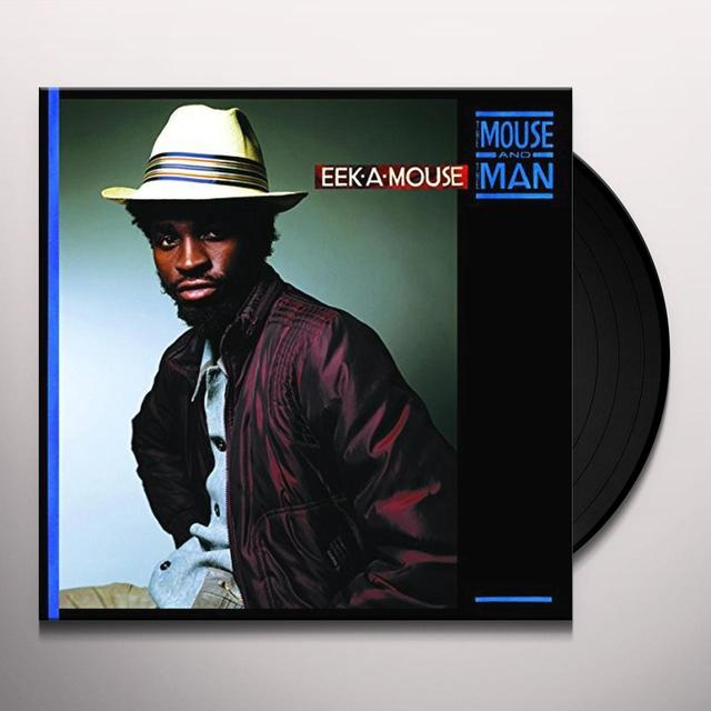 Eek-A-Mouse MOUSE & THE MAN Vinyl Record - UK Import