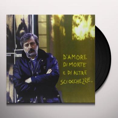 Francesco Guccini D'AMORE DI MORTE E DI ALT Vinyl Record - Italy Import