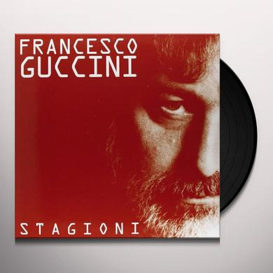 Francesco Guccini STAGIONI Vinyl Record - Italy Import