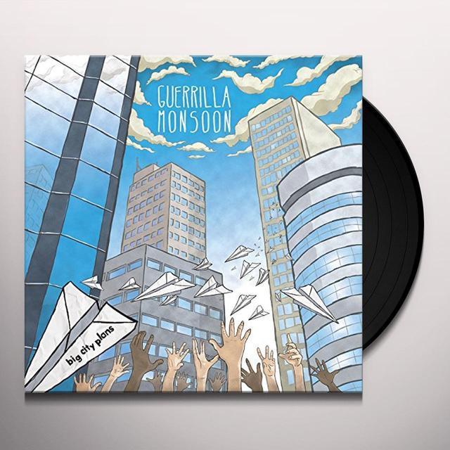 GUERRILLA MONSOON BIG CITY PLANS Vinyl Record - UK Import