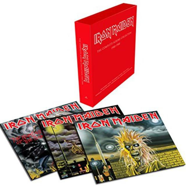 Iron Maiden VINYL COLLECTOR SET Vinyl Record - Canada Release