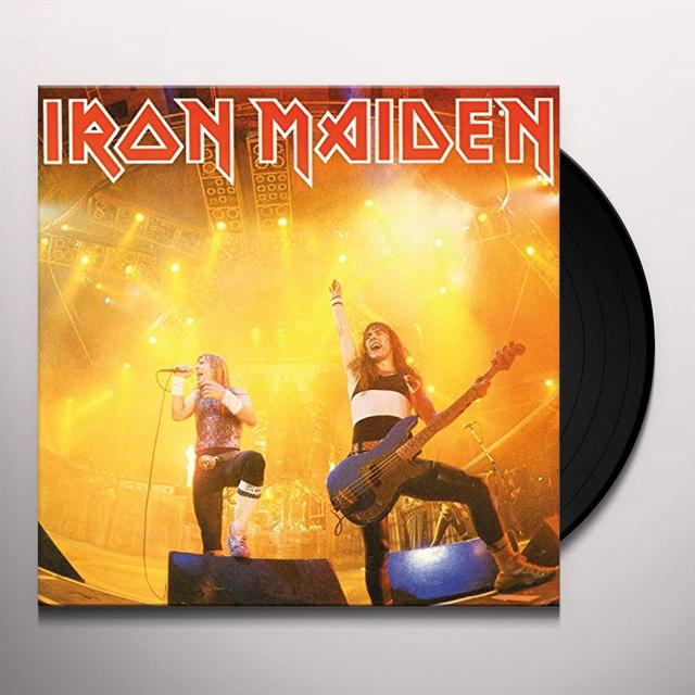 Iron Maiden RUNNING FREE Vinyl Record - Canada Import
