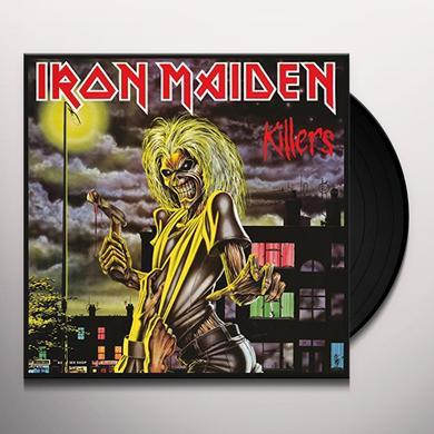 Iron Maiden KILLERS Vinyl Record - Canada Import