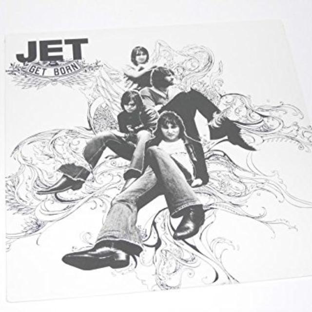 Jet GET BORN Vinyl Record - Australia Release