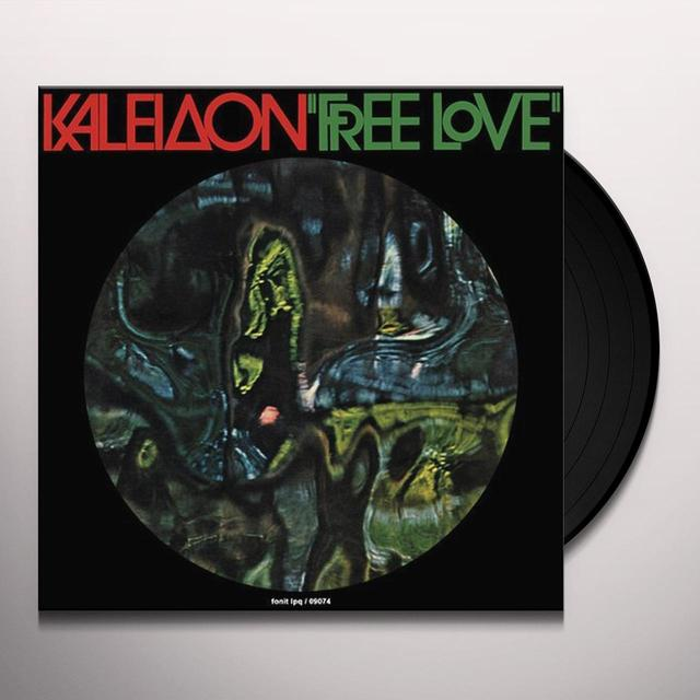 KALEIDON FREE LOVE Vinyl Record - Italy Import