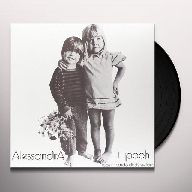 POOH ALESSANDRA Vinyl Record - Italy Import