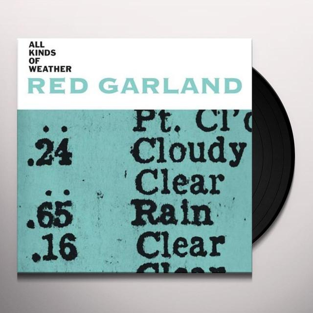 Red Garland ALL KINDS OF WEATHER Vinyl Record - Italy Import
