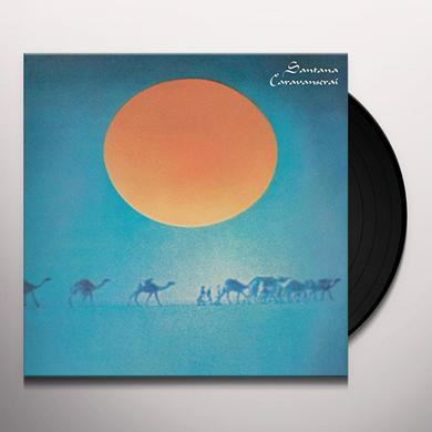 Santana CARAVANSERAI Vinyl Record - Holland Import