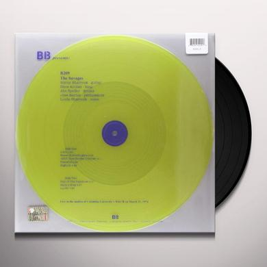 Savages LIVE IN THE STUDIOS OF COLUM Vinyl Record - UK Import