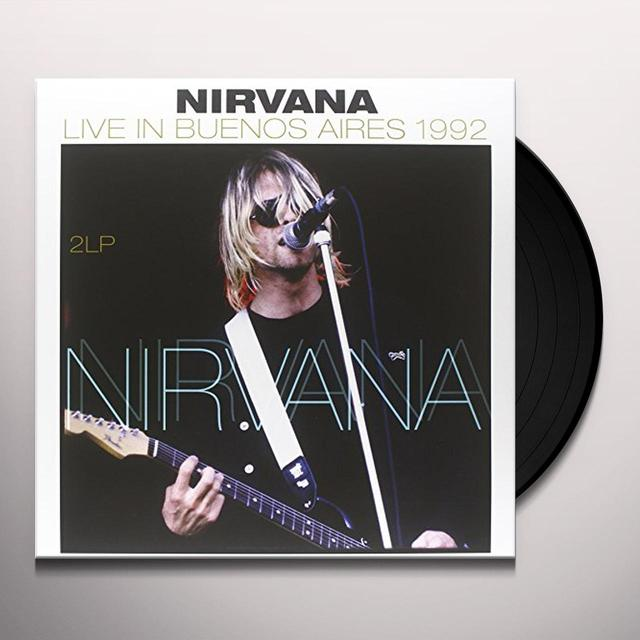 Nirvana LIVE IN BUENOS AIRES 1992 Vinyl Record - 180 Gram Pressing