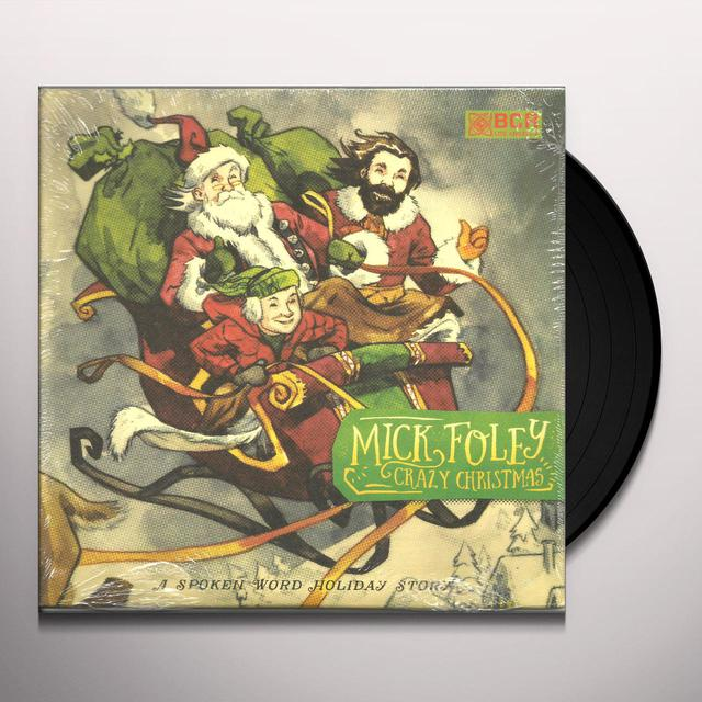 Mick Foley CRAZY CHRISTMAS Vinyl Record