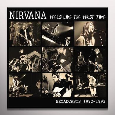 Nirvana FEELS LIKE THE FIRST TIME Vinyl Record - White Vinyl