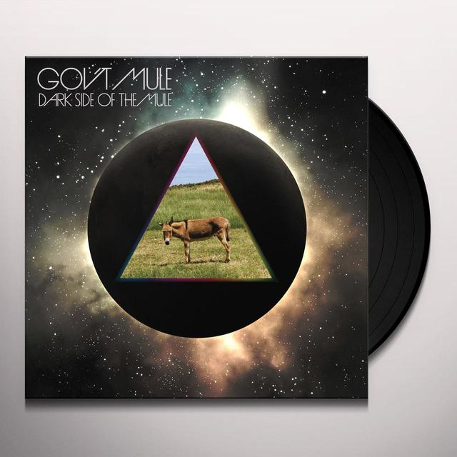 Govt Mule DARK SIDE OF THE MULE Vinyl Record
