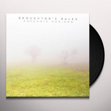 Broughton'S Rules ANECHOIC HORIZON Vinyl Record