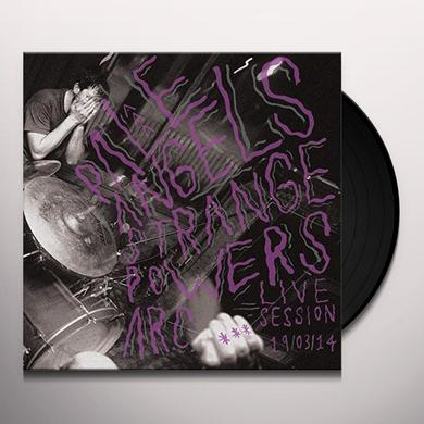 Pale Angels STRANGE POWERS (ARC LIVE SESSION) Vinyl Record