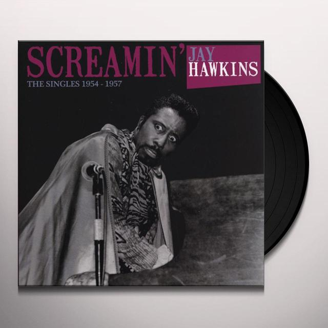 Screamin Jay Hawkins SINGLES 1954-1957 Vinyl Record