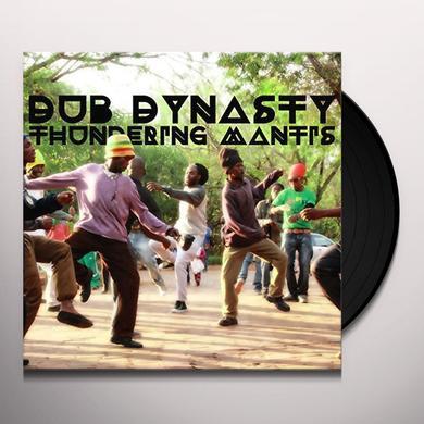 Dub Dynasty THUNDERING MANTIS Vinyl Record - Canada Import